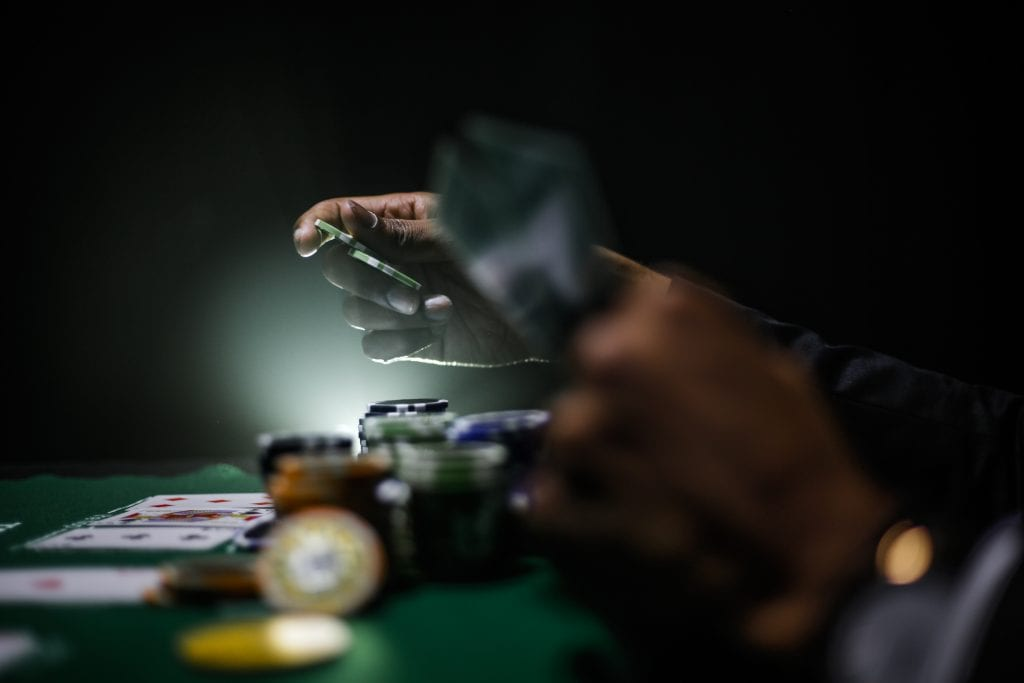 Live Texas Hold'em Spill Online