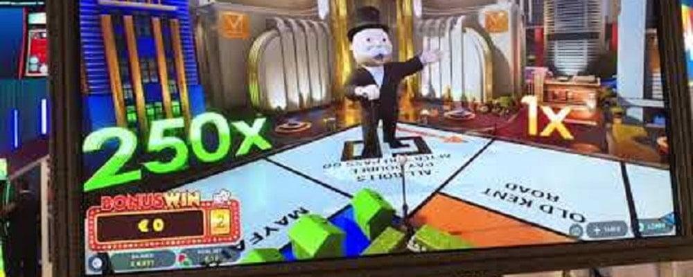 Monopoly fra Evolution Gaming