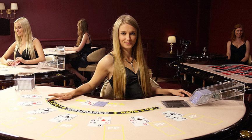 Live Blackjack Dealer